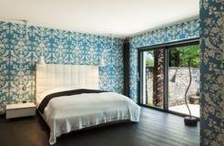 красивейшая спальня Стоковые Фотографии RF