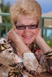 Красивейшая старшая женщина стоковые изображения rf