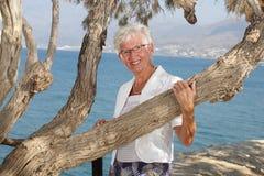 красивейшая старшая женщина стоковые изображения