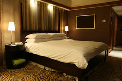 красивейшая сюита гостиницы Стоковая Фотография