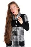 красивейшая с волосами повелительница длиной Стоковое фото RF