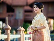 Красивейшая тайская девушка Стоковые Изображения