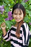 красивейшая тайская женщина стоковая фотография