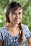 красивейшая тайская женщина стоковое фото