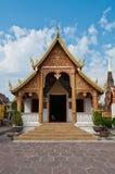 Красивейшая тайская церковь типа Стоковое фото RF