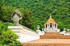 Красивейшая тайская церковь стоковые изображения rf