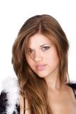 красивейшая тощая женщина Стоковая Фотография