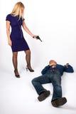 красивейшая убийца стоковое изображение