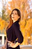 красивейшая удивленная девушка Стоковое фото RF