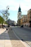 красивейшая улица Стоковые Фото