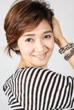 красивейшая ультрамодная женщина Стоковое Изображение RF