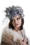 красивейшая унылая женщина Стоковое Фото