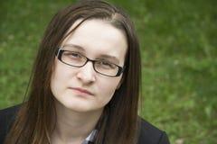 красивейшая унылая женщина Стоковое фото RF