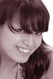 красивейшая усмешка Стоковое Изображение