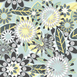 красивейшая флористическая текстура Стоковые Изображения