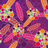 красивейшая флористическая текстура Стоковое фото RF