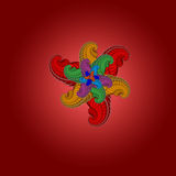 красивейшая фракталь Стоковые Фото