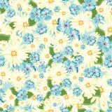 красивейшая флористическая картина безшовная Яркие бутоны, листья, цветки для поздравительных открыток smellcomp магазина иллюстр Стоковое фото RF