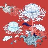 красивейшая хризантема Стоковое фото RF