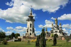 Красивейшая христианская церковь Стоковые Изображения