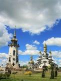 Красивейшая христианская церковь Стоковая Фотография RF