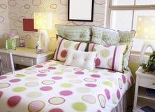 красивейшая цветастая потеха ягнится комната живая Стоковое Фото