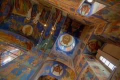 красивейшая церковь потолка правоверная Стоковая Фотография RF