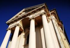 красивейшая церковь стоковая фотография rf