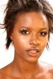 красивейшая чернокожая женщина стоковые изображения