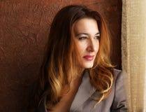 красивейшая шикарная женщина Стоковое Фото