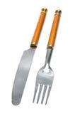 красивейшая штепсельная вилка ножа Стоковая Фотография RF