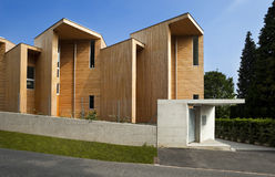 красивейшая экологическая дом Стоковая Фотография RF
