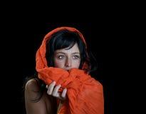 красивейшая этническая женщина Стоковые Фото