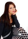 красивейшая девушка сексуальная Стоковая Фотография RF