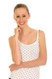 красивейшая девушка счастливая Стоковые Фото