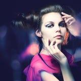 красивейшая девушка Стоковые Изображения RF