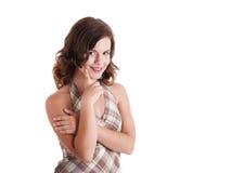 красивейшая девушка smilling Стоковое фото RF