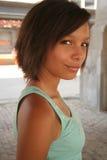 красивейшая biracial девушка стоковая фотография