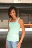 красивейшая biracial девушка стоковое изображение rf