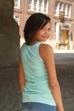 красивейшая biracial девушка стоковая фотография rf