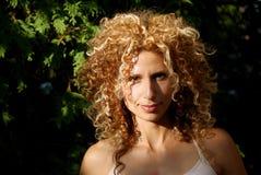 красивейшая outdoors сь женщина Стоковые Фото