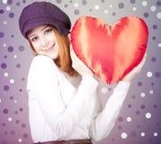 Красивейшая red-haired девушка стоковые фото
