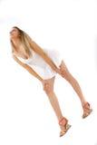 красивейшее белокурое предназначенное для подростков Стоковое Фото
