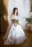 красивейшее брюнет невесты Стоковые Фото