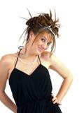 красивейшее брюнет предназначенное для подростков Стоковые Изображения