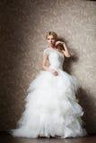 красивейшее венчание девушки платья Стоковое Изображение