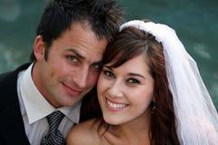 красивейшее венчание пар Стоковое фото RF