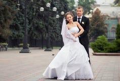красивейшее венчание пар Стоковые Изображения