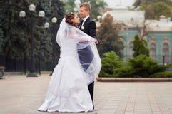 красивейшее венчание пар Стоковая Фотография