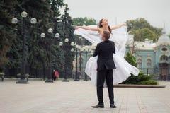 красивейшее венчание пар Стоковые Изображения RF